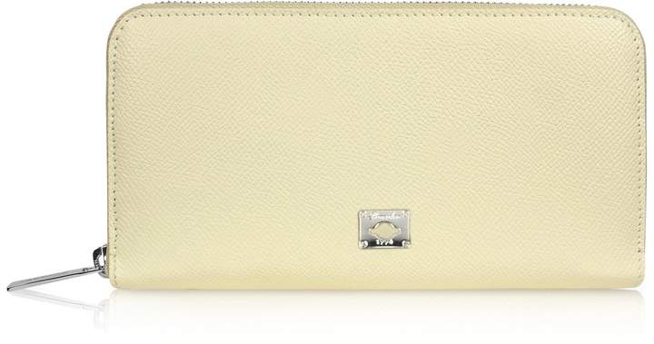 Pineider City Chic - Women's Zip Around Calfskin Wallet