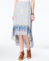American Rag Printed High-Low Skirt, Created for Macy's