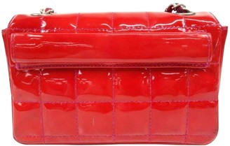 Chanel Red Patent leather Belt Bags