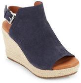 Gentle Souls Katie Nubuk Espadrille Wedge Sandals