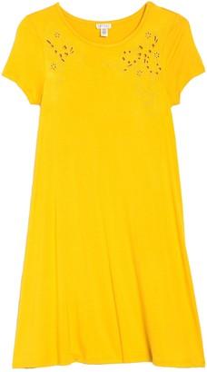 Spense Embroidered T-Shirt Dress