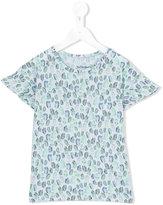 Bellerose Kids - floral print T-shirt - kids - Cotton/Linen/Flax - 6 yrs