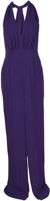 HUGO BOSS Purple V-Neck Sleeveless Diwendyn Maxi Dress S