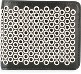 Maison Margiela eyelet detail wallet - men - Calf Leather/Metal (Other) - One Size