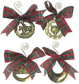 One Kings Lane Vintage English Horse Brass Ornaments