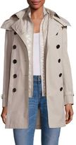 Burberry Churchdale Trench Coat & Quilted Gilet