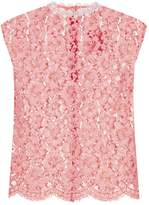 Sandro Lace Shell Top, Pink, 0