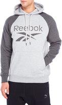Reebok Embroidered Logo Raglan Fleece Hoodie
