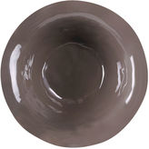 Q Squared S/4 Ruffle Cereal Bowls, Pebble