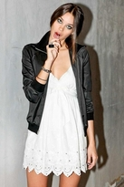 Pencey Girly Embroidered Lace Tank Dress