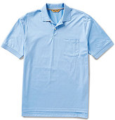 Roundtree & Yorke Gold Label Perfect Performance Solid Pique Pocket Polo