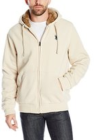 U.S. Polo Assn. Men's Fleece Hoodie with Sherpa Lining