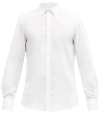 Bourrienne Paris X - Romanesque Bourrienne-cuff Cotton-poplin Shirt - White
