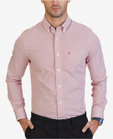Nautica Men's Non-Iron Striped Shirt