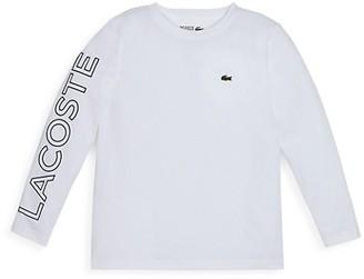Lacoste Little Boy's & Boy's Logo Long Sleeve Shirt