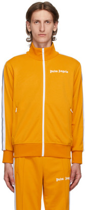 Palm Angels Yellow Classic Track Jacket