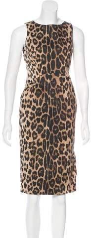 Altuzarra Leopard Print Dress