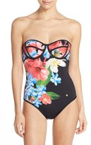 Ted Baker Women's 'Forget Me Not' Underwire One-Piece Swimsuit