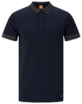 Hugo Boss Boss Orange Pilipe Polo Shirt, Dark Blue