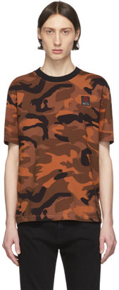 McQ Orange Camo Oversized T-Shirt