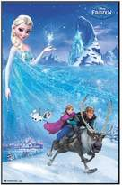 """Art.com 34"""" x 22"""" Disney's Frozen Elsa Framed Wall Art by"""