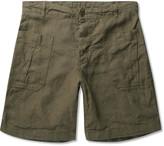 Arpenteur - Woven Linen Shorts
