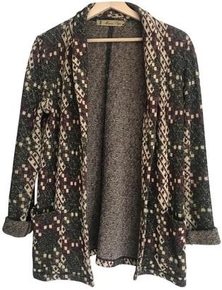 Olga Maison Multicolour Cotton Jacket for Women