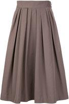 TOMORROWLAND pleated skirt