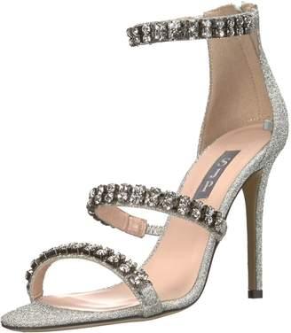Sarah Jessica Parker Women's Orbit Crystal Multi Strap Sandal