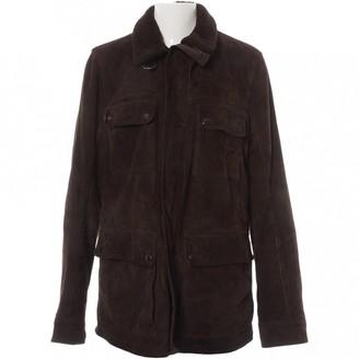 Prada Brown Leather Jackets