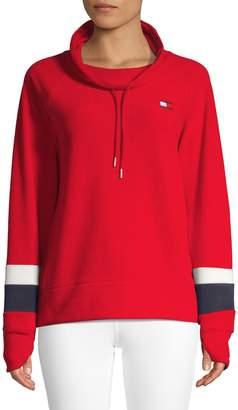 Tommy Hilfiger Striped-Sleeve Sweatshirt