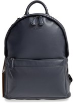 Ted Baker Men's 'Dollar' Leather Backpack - Blue