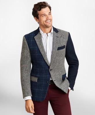 Brooks Brothers Regent Fit Harris Tweed Mixed Pattern Sport Coat
