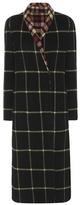 Etro Check Wool Coat