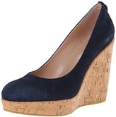 Stuart Weitzman Women's Corkswoon Wedge Pump
