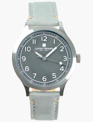 Lucky Brand Jefferson Gray Fabric Watch