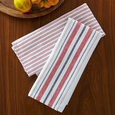 west elm Market Kitchen Towel Set - Center Stripe