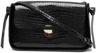 Loeffler Randall Maggie crocodile effect baguette bag
