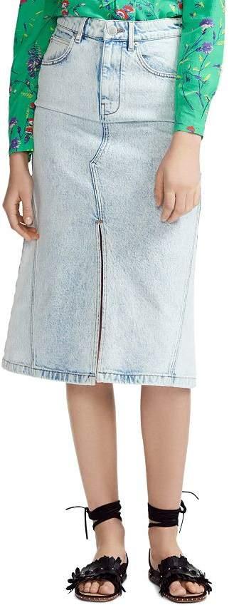 4157ab801a Maje Midi Skirt - ShopStyle