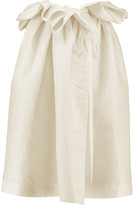 Ellery Impact ruffled embroidered voile skirt