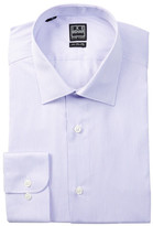 Ike Behar Long Sleeve Mini Stripe Dress Shirt
