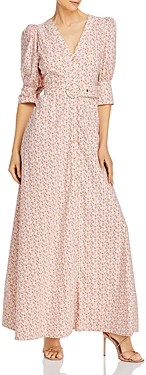 Notes du Nord Ora Printed Maxi Dress