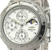 Breitling Astromat Chronograph Moon Phase Stainless Steel 40mm Mens Watch