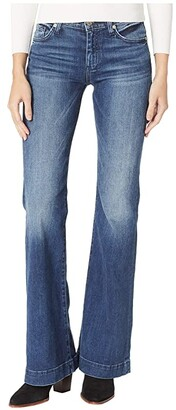 7 For All Mankind Dojo Trousers in Lake Blue (Lake Blue) Women's Jeans