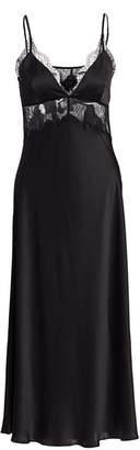 CAMI NYC The Tucker Lace Silk Midi Gown