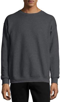 Hanes Ecosmart Mens Crew Neck Long Sleeve Sweatshirt