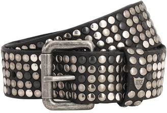 Htc Los Angeles 35mm Studded Leather Belt