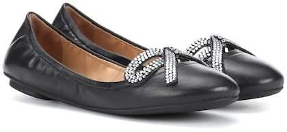 Marc Jacobs Willa Bow leather ballerinas