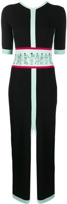Kirin Colour-Block Fitted Dress