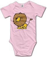 LopenD Lions Geek Short Sleeves Variety Baby Onesies Body Suits For Babies Size 6 M